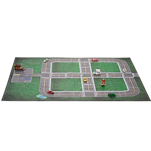 Drive N Learn CAR Play mat & parking lot My Home Town FOR Toy