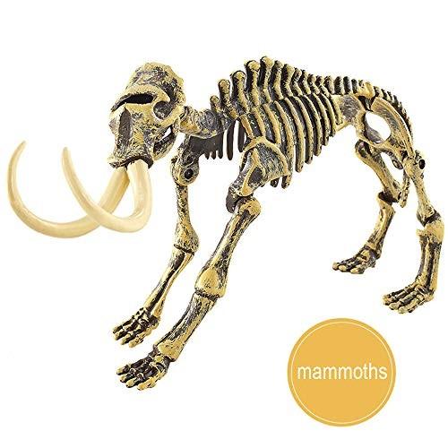 HKDGID Dinosaur Excavation Kits Kids Toys Dig KitsDinosaur Fossil KidsChildren's Popular Science Education – DIY Mammoths