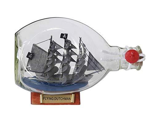 Hampton Nautical Flying Dutchman Pirate Ship in a Glass Bottle 7 – Decoration Mod
