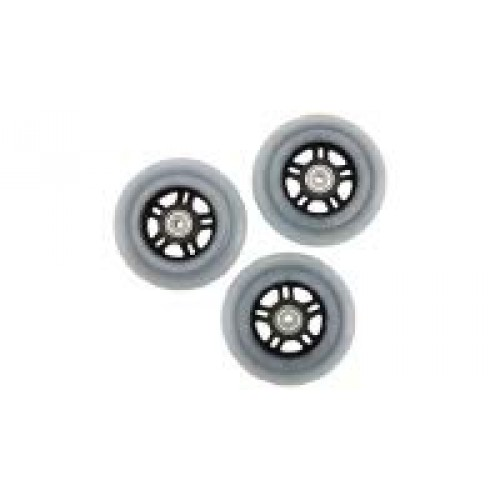 Firefly Unisex's Parts Spare Role Set Inline Skate Components Transparent Standard Size