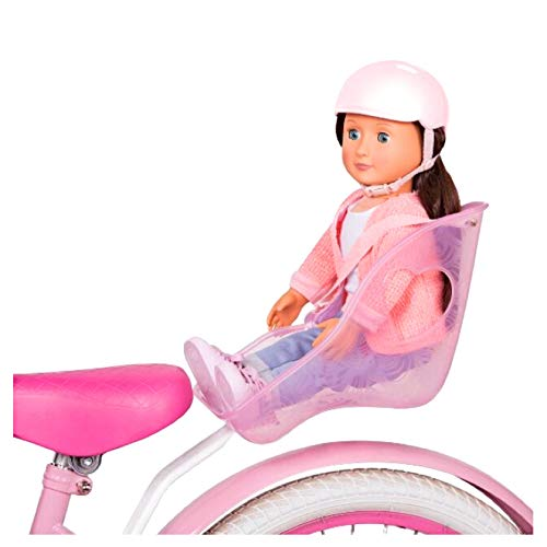 Generation Our Pink 18 Doll Bicycle Seat and Helmet