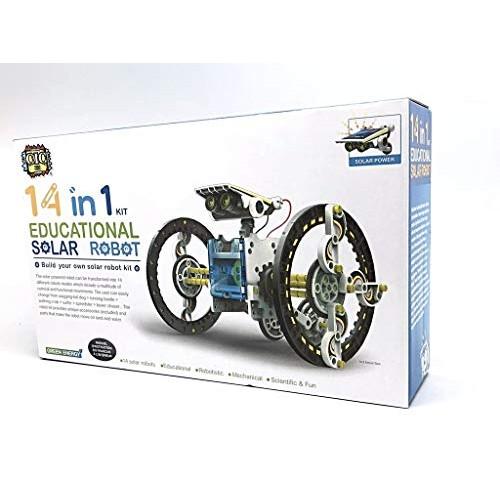 14 in 1 Solar Robot kit Educational Power Canada