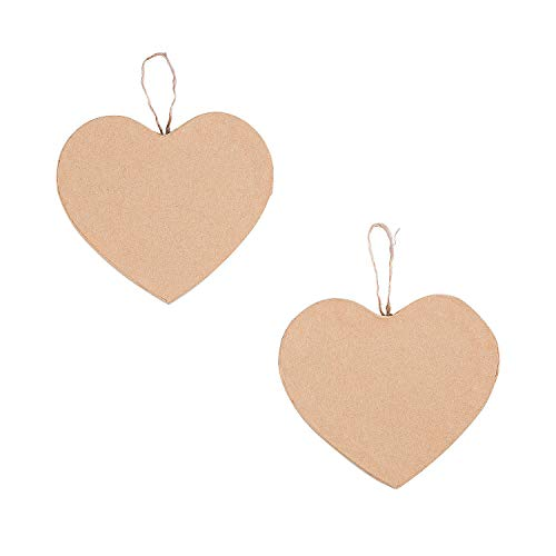 Paper Mache Heart Ornaments – Crafts for Kids and Fun Home Activities