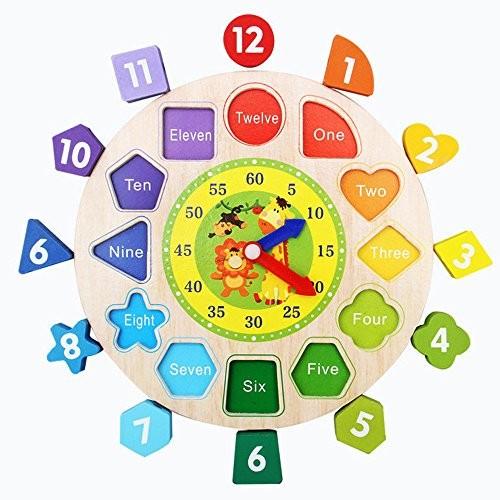 Digital Geometry Clock Blocks
