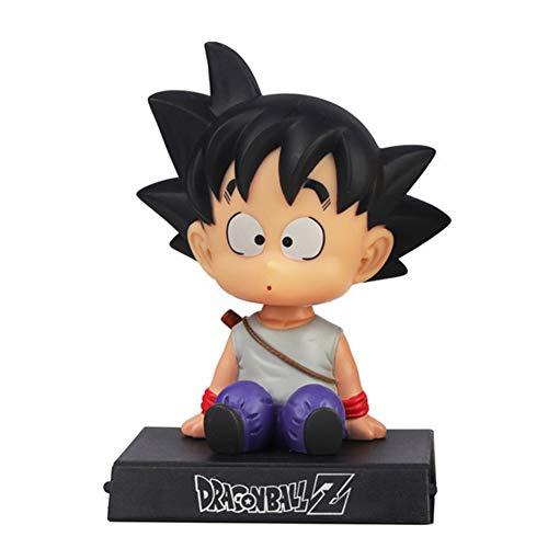 Goku Phone Bracket Shaking Head Car Decoration Dragon Ball Z Home Decor for HomeCarParty Cake