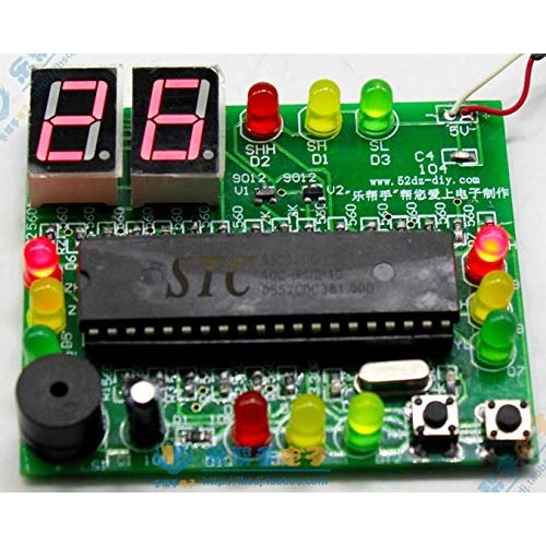 DDIY Traffic Light Soldering Project Electronic Kit DIY Parts Beginners Learning Welding Assemble