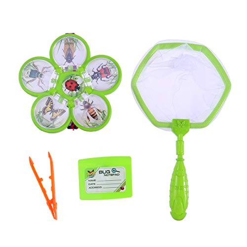 STOBOK Children Bug Insects Catcher Tools and Playset Backyard Exploration Kit Outdoor Toy for
