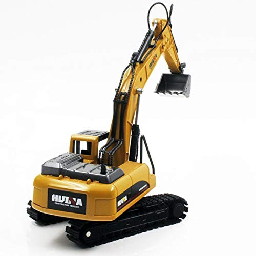 Kongqiabona HUINA Toys NO1710 Truck Model Excavator 1 50 Engineering Vehicle Tuck Construction Vehicles Alloy
