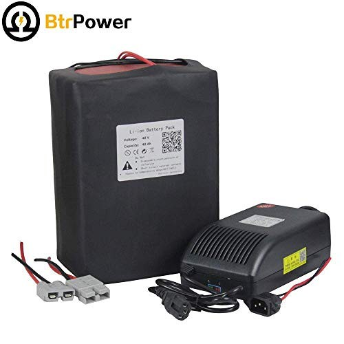48V E-Bike Battery 10AH – 50AH Lithium ion / Lifeo4 Battery Pack with 5A