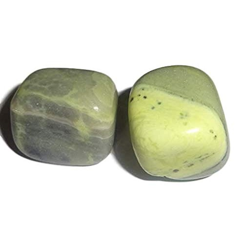 2pc Infinite Stone Medium Tumbled & Polished Natural Healing Crystal Gemstone Collectible Display or Wrapping Stones
