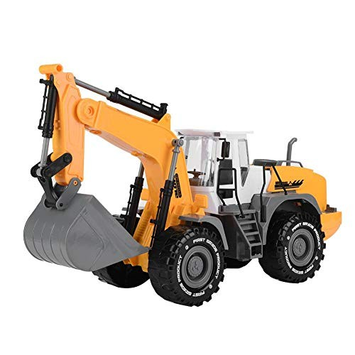 Excavator Road Roller Construction Vehicles Model Engineering Car Toy Early Educational Demolition Machine Sand Beach Game Set 1 22 #2
