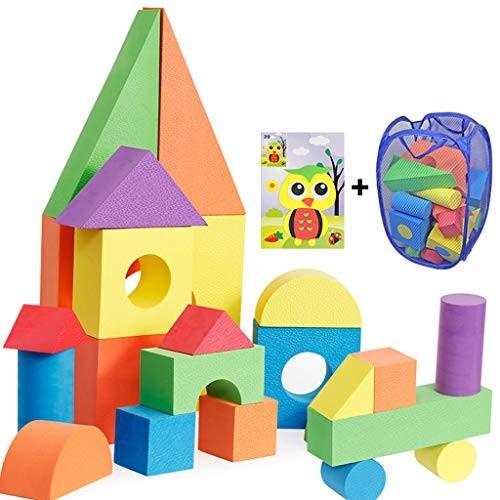 Yanxia Children's Toys Foam Blocks 3-6 Years Old Boys and Girls Large Software Kindergarten Educational Size E007