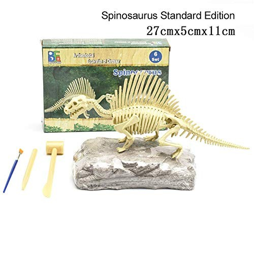 Nicemeet Dinosaur Fossil Toys for Children Manual DIY Assembly of Skeleton Improve Children's Hands-on Ability and Archaeological Interest