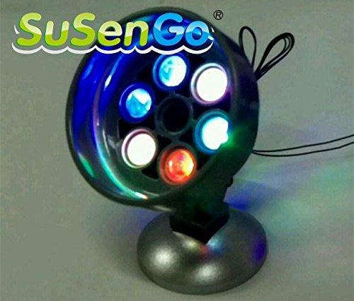 Wood SuSenGo Creator House Accessories Colorful LED Light up kit Building Blocks Model Decorate Toys Set
