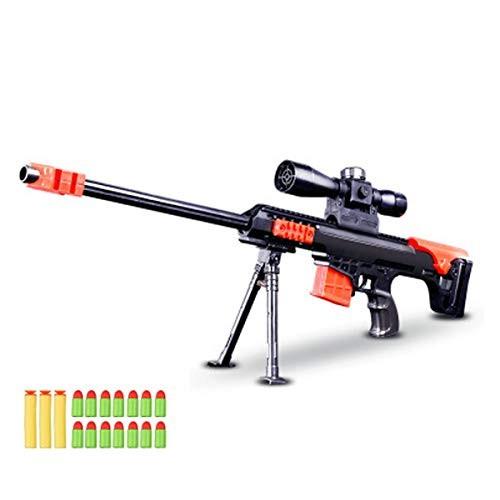 Toy Gun Military Combat Barrett Sniper Rifle Children Outdoor CS Soft Bullet Toy Sniper