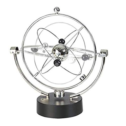 GLOBE AS Orbit Spinner – Kinetic Orbital Revolving Physics Science Toy Gadget Ideal for All Offices Home Bedroom Decoration