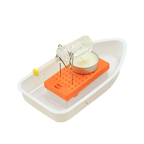 CHoppyWAVE Classic Heat Steam Candle Boat Powered Speedboat Scientific Experimental Toy