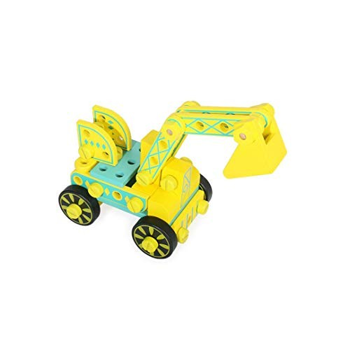 FLYSxP Children's Disassembly Toy Variety Nut Multi-Function Luban Tool Chair Assembled Screw Engineering Car Puzzle Building Blocks Toys Educational