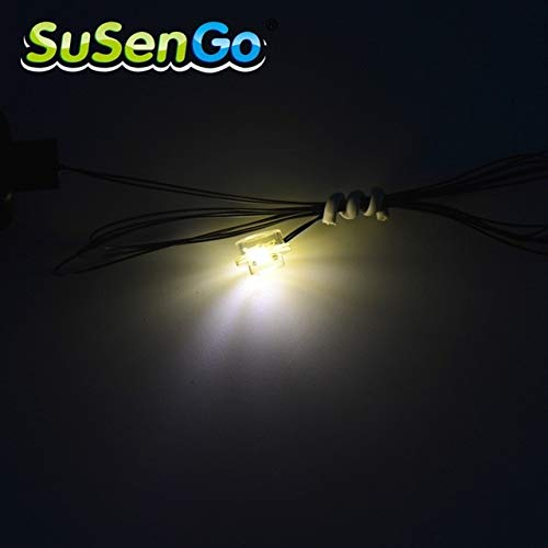 Led Light Warm White SuSenGo Kit for Building Blocks Model Accessories Toys USB Charge Set Can Decorate All
