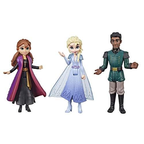 Disney Frozen Anna Elsa & Mattias Small Dolls 3 Pack Inspired by The Frozen
