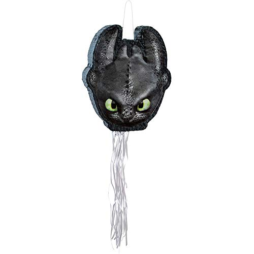 How to Train Your Dragon 3 Shaped Pull-String Party Pinata 1ct