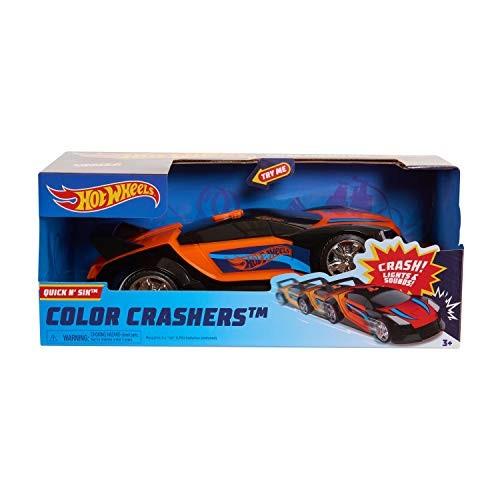 Hot Wheels Race N Crash Quick N' SIK Multi-Color (98001)