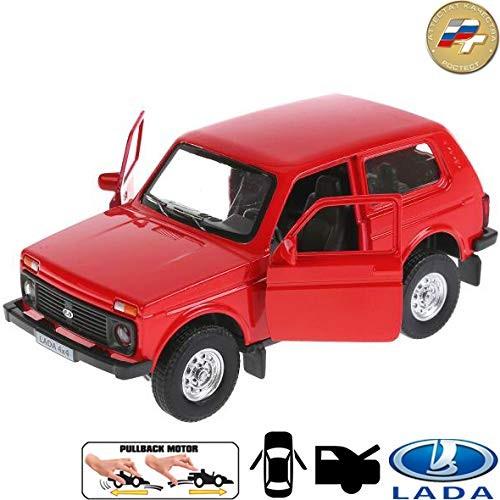 Diecast Metal Model Car Lada 4×4 VAZ 2121 Niva Russian Toy Die-cast Cars