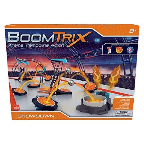Goliath Boomtrix Showdown Kinetic Metal Ball Chain Reaction Stunt Kit – Fun Educational STEM