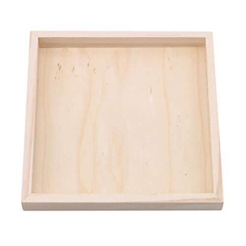 LZIYAN Tray Wooden Plate Building Block Creative Three-dimensional Puzzle Storage Bottom Rack Pallet For Children