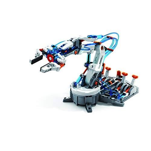 Elenco Teach Tech Hydrobot Arm Kit Hydraulic STEM Building Toy for Kids 10+