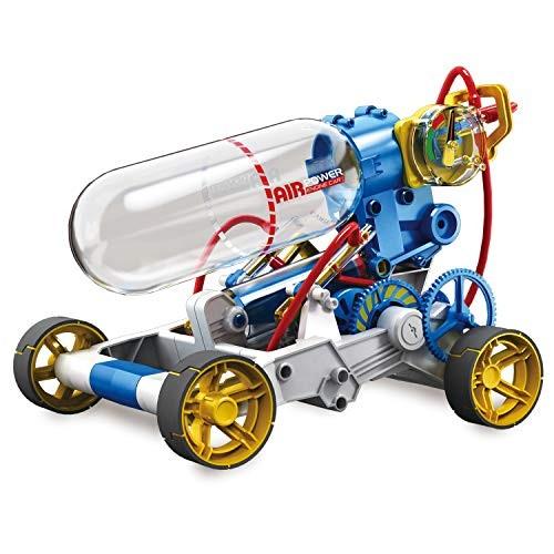 Elenco Teach Tech Air Screamer Compressed Powered Racing Vehicle STEM Building Sets for Kids 10+