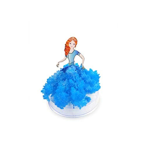 RABONO Magic Growing Crystal Heart Tree Creative Birthday Gift Educational Novelty Kids Games Toy Blue Princess