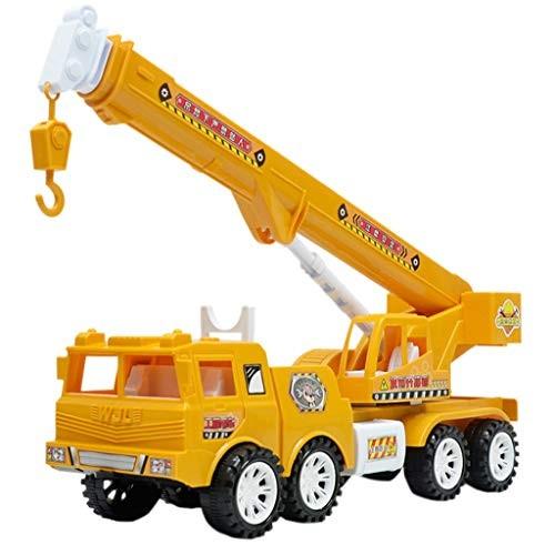 Afus Excavator Toys for Boys Simulation Vehicle Toy Inertial Engineering Crane Model Crane