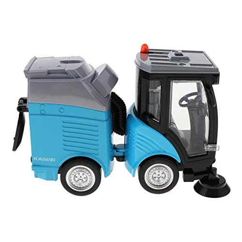Fityle Street Sweeper Diecast Alloy Figure Toy Car for Kids Children Pretend Play –