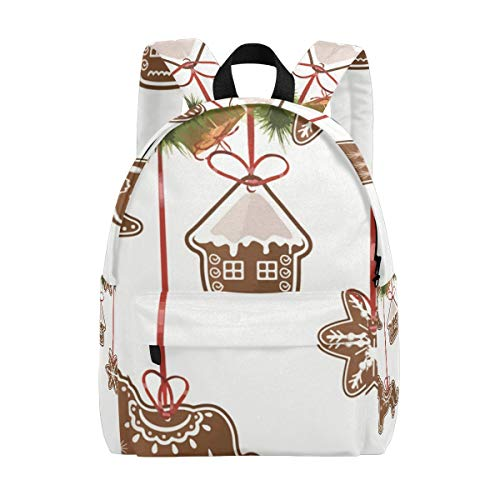 Christmas Decorate Ornaments School Backpack Casual College Daypack Shoulder Book Bags Back for Men Womens Boys Girls