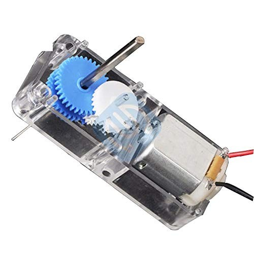 130 DC15-6V 1 94 Gear Motor 120 RPM with Transparent Protective Box Shell Case for Smart Robot RC Car DIY New
