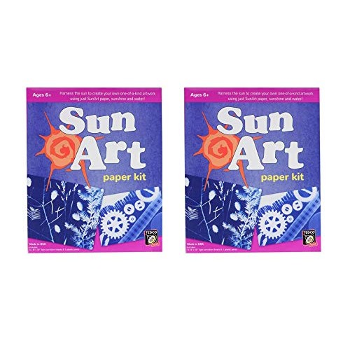 TEDCO Constructive Playthings Sun Art Paper Kit 2 PK 8×10