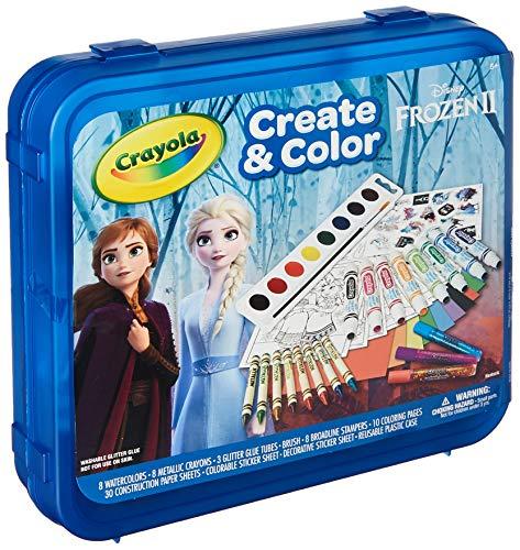Crayola Frozen 2 Art Set Arts & Crafts Gift for Kids Ages 5 6 7 8
