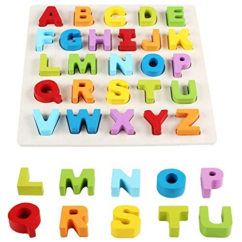 Magnetic Building Blocks Children's Enlightenment Puzzle Set Stereo Digital Letters Hand Grab Board Early Learning Toys for Boys and Girls Color Size Free