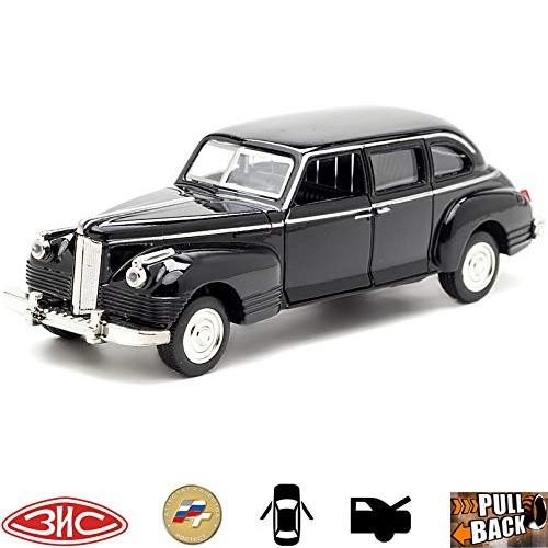 1:36 Diecast Metal Model Car ZIS-110 Limousine Russian Soviet Cars Toy Die-cast