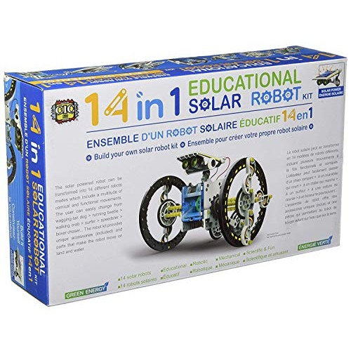 SuperSmartChoices STEAM Line Toys 14-in-1 Educational Solar Robot Kit