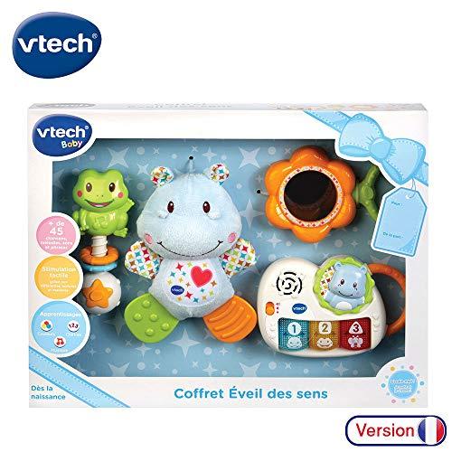 VTech Coffret Naissance veil des sens Bleu French Toy
