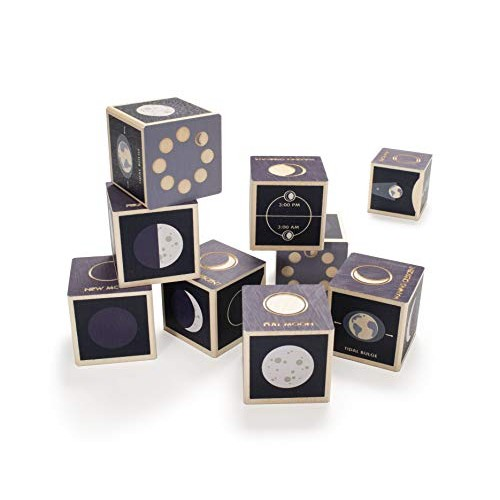 Uncle Goose Moon Phase Blocks – Made in The USA