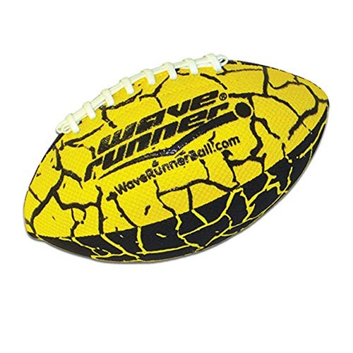 Wave Runner Grip It Waterproof Football- Size 925 Inches with Sure-Grip Technology | Let's