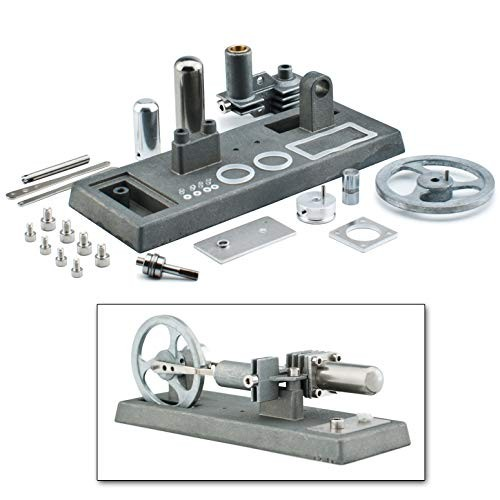 DjuiinoStar Hot Air Stirling Engine Assembly Kit Spend 30 Minutes to Build Your Own