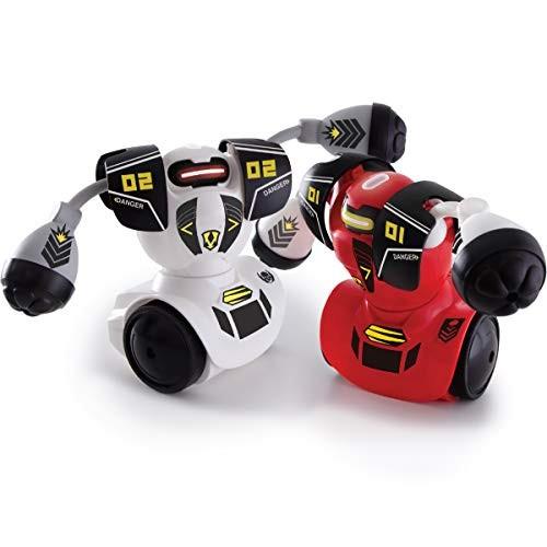 Sharper Image Remote Control Robot Multiplayer Combat Set Red & White