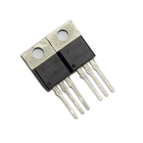 DGZZI 2PCS RFP30N06LE 30A 60V N-CH Power Mosfets TO-220 ESD Rated for Arduino