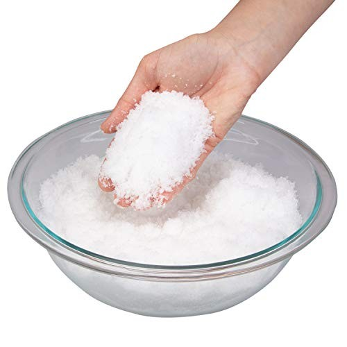 Toys By Nature Instant Miracle Snow Powder – Kids Play Safe & Non Toxic Makes Over 2 Gallons of Just Add Water 100g Jar