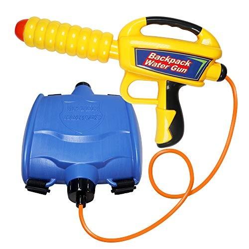 FLASNAKE Water Gun Backpack Water Blaster Squirt Gun with High Capacity Tank Summer Outdoor