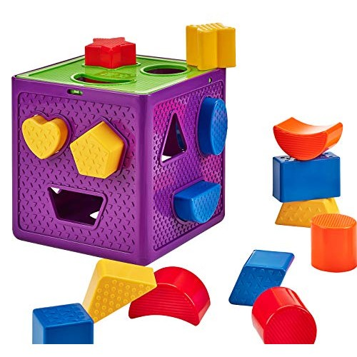 Original Shape Sorter Babies & Toddlers 18 Colorful Pieces Ages 1-5 Years Old Great Gift